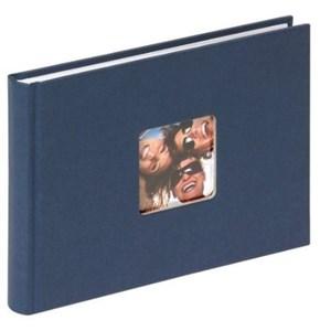 Image of   FA-207-L fotoalbum og arkbeskyttelse Blå 40 ark