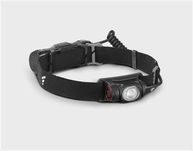 Image of   PROTECH H0917 Hovedbånd lommelygte Sort LED