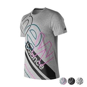 Kortærmet T-shirt til Mænd New Balance Modern Ht Grå M