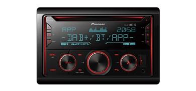 Image of   FH-S820DAB bil media receiver Sort 200 W Bluetooth