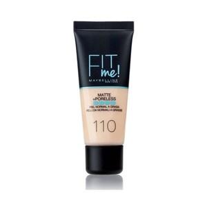 Image of   Flydende makeup foundation Fit Me Maybelline 124 - soft sand