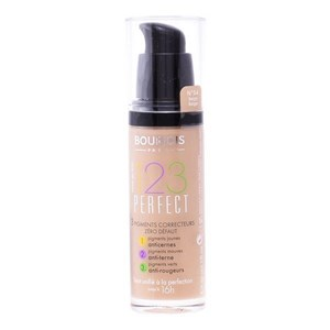 Image of   Flydende Makeup Foundation 123 Perfect Bourjois Spf 10 55 - Dark Beige - 30 ml