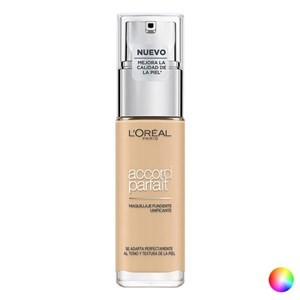 Image of   Flydende makeup foundation Accord Parfait L'Oreal Make Up (30 ml) 7D/7W-ambre dore 30 ml