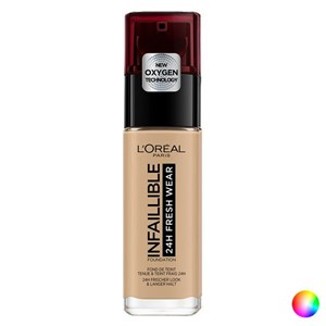 Image of   Flydende makeup foundation Infaillible 24h L'Oreal Make Up (30 ml) 100-linen 30 ml