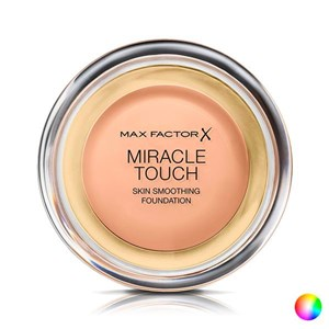 Flydende makeup foundation Miracle Touch Max Factor 045 - warm almond