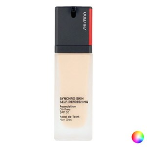 Image of   Flydende makeup foundation Synchro Skin Shiseido 350 30 ml