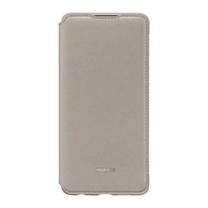 Image of   Folie Cover til Mobiltelefon Huawei P30 Flip Wallet Khaki