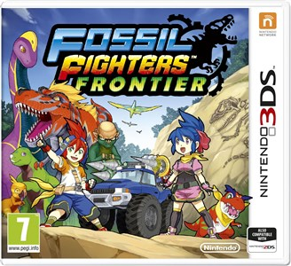 Fossil Fighters Frontier Nintendo 3DS Basis Tysk, Engelsk, Spansk, Fransk, Italiensk