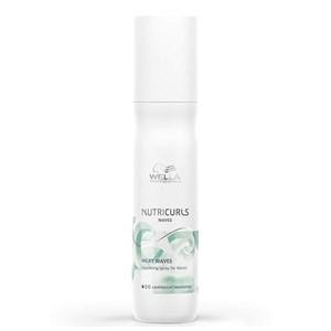 Fugtgivende Spray Nutricurls Wella Krøllet hår (150 Ml)