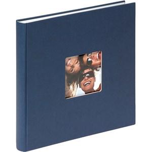 Image of   Fun fotoalbum og arkbeskyttelse Blå 40 ark M