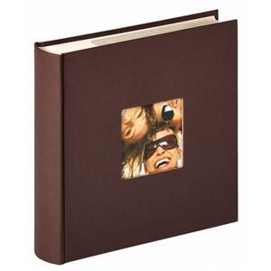 Image of   Fun fotoalbum og arkbeskyttelse Brun 200 ark L