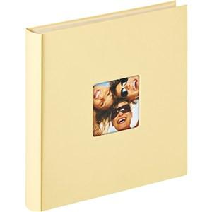 Image of   Fun fotoalbum og arkbeskyttelse Cremefarvet 50 ark XL