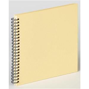 Image of   Fun fotoalbum og arkbeskyttelse Cremefarvet 50 ark L