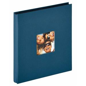 Image of   Fun fotoalbum og arkbeskyttelse Blå 400 ark XL