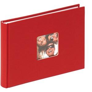 Image of   Fun fotoalbum og arkbeskyttelse Rød 40 ark S