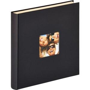 Image of   Fun fotoalbum og arkbeskyttelse Sort 50 ark XL