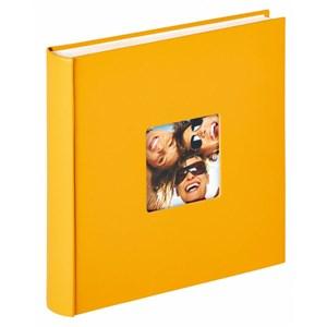 Image of   Fun fotoalbum og arkbeskyttelse Gul 100 ark L