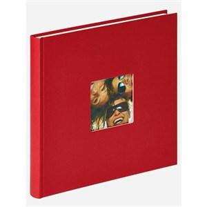 Image of   Fun fotoalbum og arkbeskyttelse Rød 40 ark M
