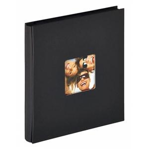 Image of   Fun fotoalbum og arkbeskyttelse Sort 400 ark XL