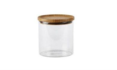 Image of   Opbevaringsglas - m. låg - Glas - 0,96l.