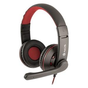 Gaming høretelefon med mikrofon NGS VOX420DJ PC, PS4, XBOX, Smartphone Sort