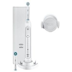 Image of   Genius 80326179 elektrisk tandbørste Voksen Roterende, pulserende tandbørste Hvid