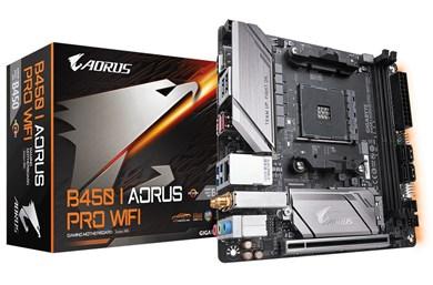 Image of   B450 I AORUS PRO WIFI bundkort Stik AM4 Mini ATX AMD B450