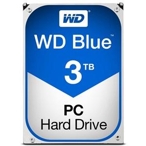 "Image of   gital Blue 3,5"" hard drive, 3TB, SATA 6Gb/s, 5400rpm"