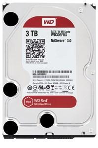 "Image of   gital Red 3,5"" harddisk, SATA 6Gb/s, 3TB, IntelliPowe"