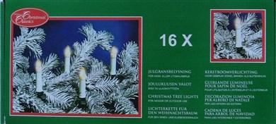 Image of   16 Lyskæde Udv. / 50cm mellem lysene
