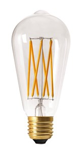 Image of   DANLAMP LED Edison 6W 922 420lm E27 dim