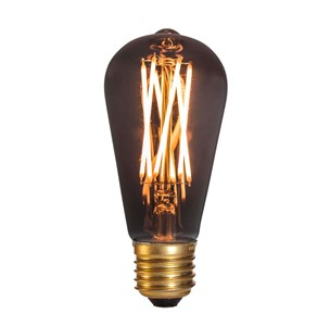 Image of   DANLAMP LED Edison smoke 4W 920 130lm E27 dim
