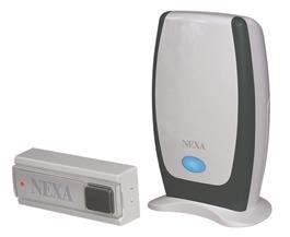Image of   Nexa trådløs dørklokke f/ batteri MLR-1105