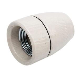 GN Belysning Porcelænsfatning E27 M10 inkl. jord glaseret