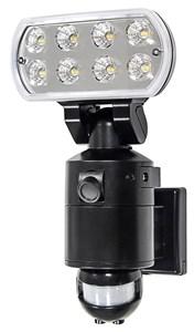Image of   Sikkerhedslampe 18W LED m/PIR WIFI og kamera