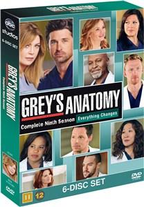Greys Anatomy/Greys Hvide Verden - saeson 9 - DVD