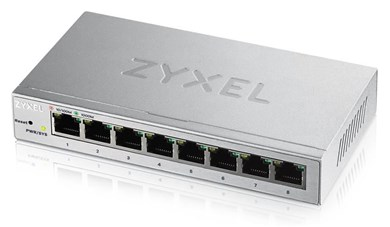 Image of   GS1200-8 Managed Gigabit Ethernet (10/100/1000) Silver