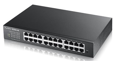 Image of   GS1900-24E Managed L2 Gigabit Ethernet (10/100/1000) Black
