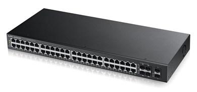Image of   GS2210-48 Managed L2 Gigabit Ethernet (10/100/1000) Black 1U