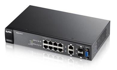 Image of   GS2210-8 Administreret L2 Gigabit Ethernet (10/100/1000) Sort