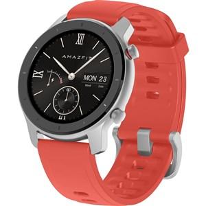 "Image of GTR 42 smartwatch Sort, Sølv AMOLED 3,05 cm (1.2"") GPS (satellit)"