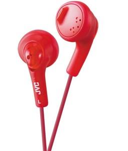 JVC Gumy in-ear høretelefoner. Rød