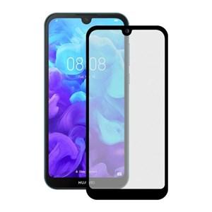 Billede af Huawei Y5 2019 - Hærdet Glas Skærmbeskyttelse - 9h - Sort