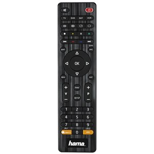 Image of 00012306 fjernbetjening IR trådløs DVD/Blu-ray,STB,TV,VCR Tryk på knapper