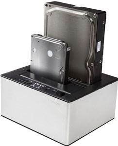 Image of   Hard Drive Dock duplicator, USB direkte dock med duplike
