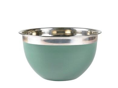 Kokkeskål 3 liter 20 x 12 cm Grøn Rustfrit stål