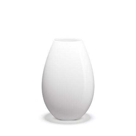 Holmegaard Cocoon Vase Hvid H 205 Cm Vase Skiftselv