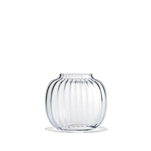 Image of   Primula Oval Vase klar H12,5