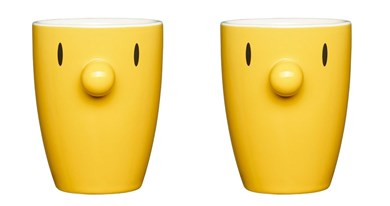 Hoptimist ByHoptimist Thermo Cup - Yellow (2 pcs)