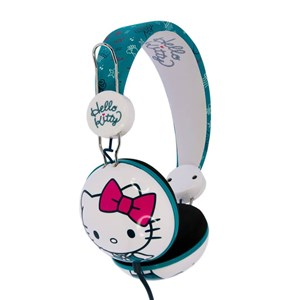 Image of   Hovedtelefon Dome Tween On-Ear 90dB Grøn/Rosa Kitty